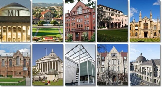 Ranking das melhores universidades do mundo