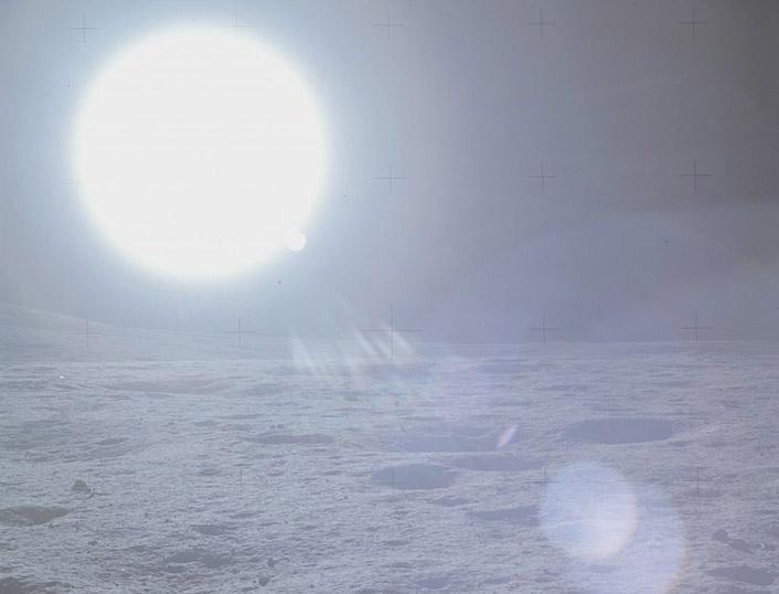Sol Visto da Lua